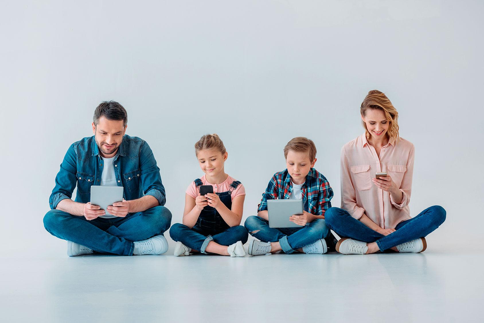 Sistemas de localización, monitoreo y cooperación para toda la familia