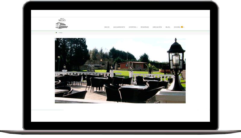 Diseño web: Hotel Nicols