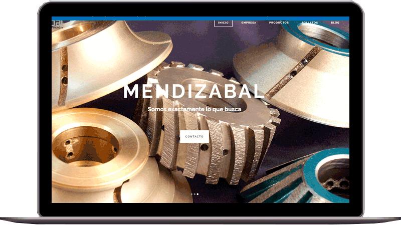 Diseño web: Mendizabal