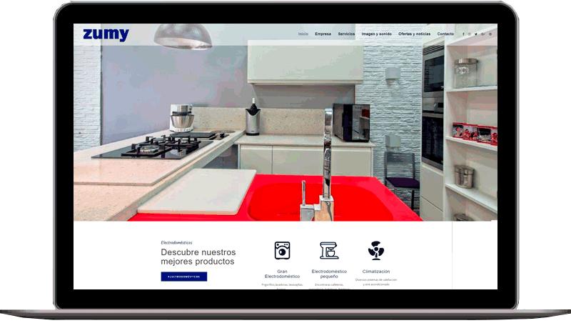 Diseño web: Zumy