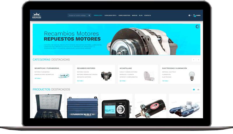 Tienda Online: Suministros Nauticos