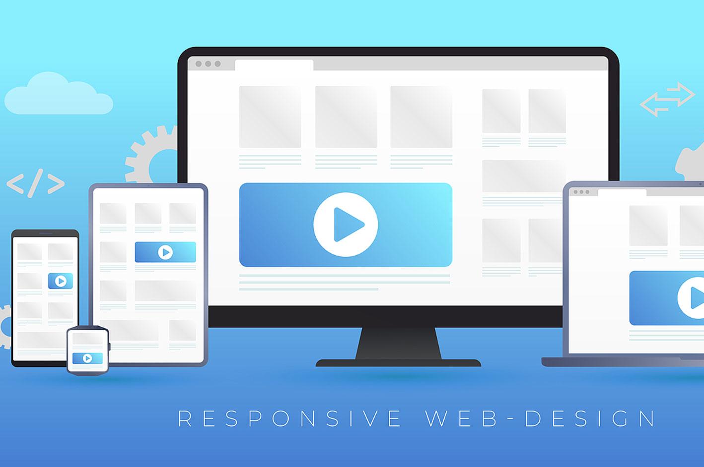 Diseño web responsive y desarrollo de páginas web